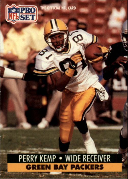 1991 Pro Set #510 Perry Kemp