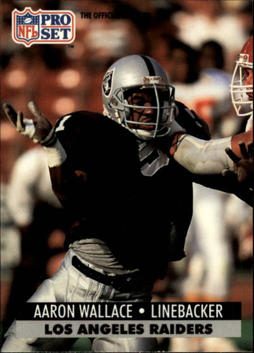 1991 Pro Set #549 Aaron Wallace