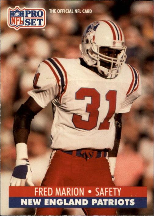 1991 Pro Set #582 Fred Marion