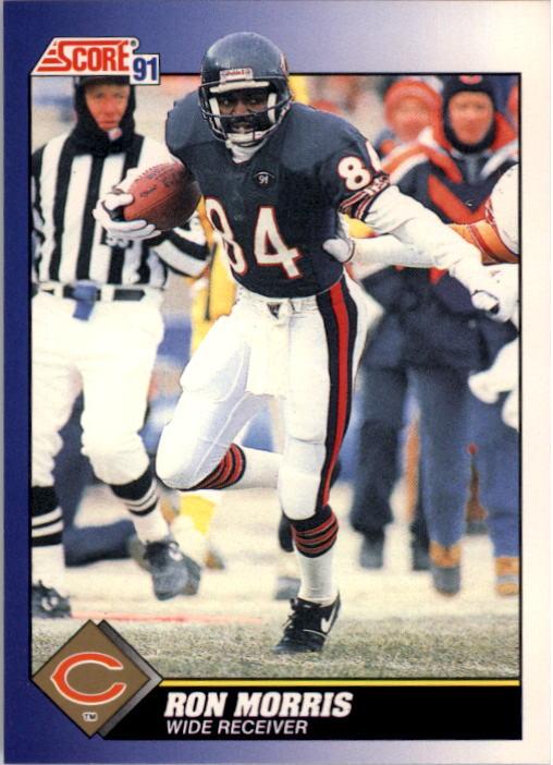1991 Score #24 Ron Morris