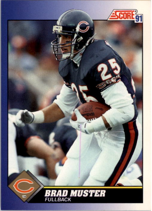 1991 Score #25 Brad Muster