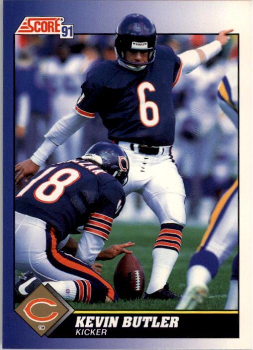1991 Score #29 Kevin Butler