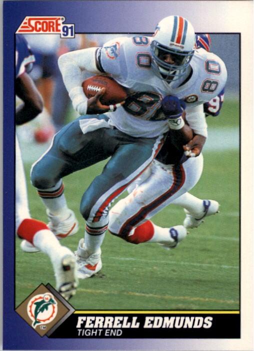 1991 Score #82 Ferrell Edmunds