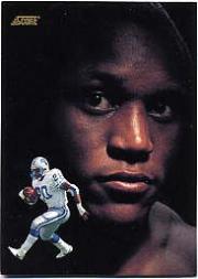 1991 Score Dream Team Autographs #677 Barry Sanders