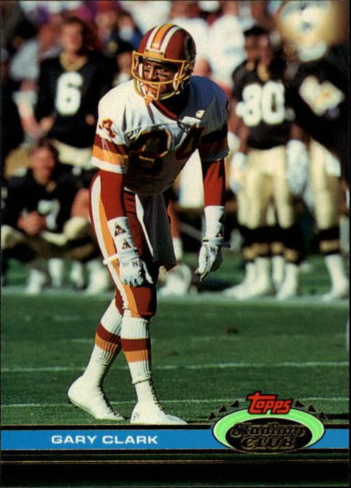 1991 Stadium Club #242 Gary Clark