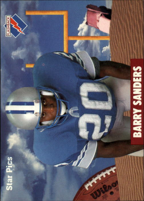1991 Star Pics #2 Barry Sanders FLB