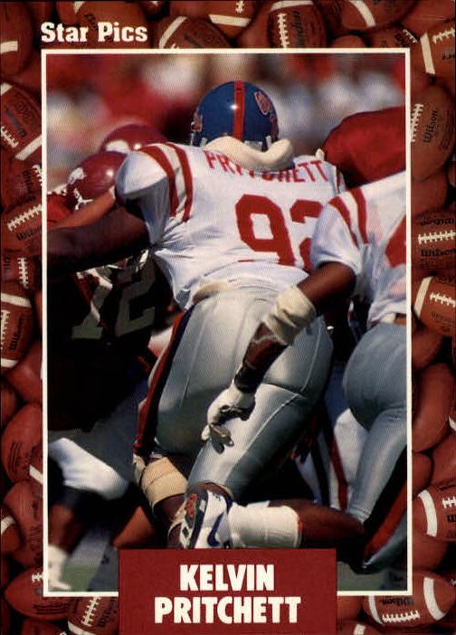 1991 Star Pics #4 Kelvin Pritchett