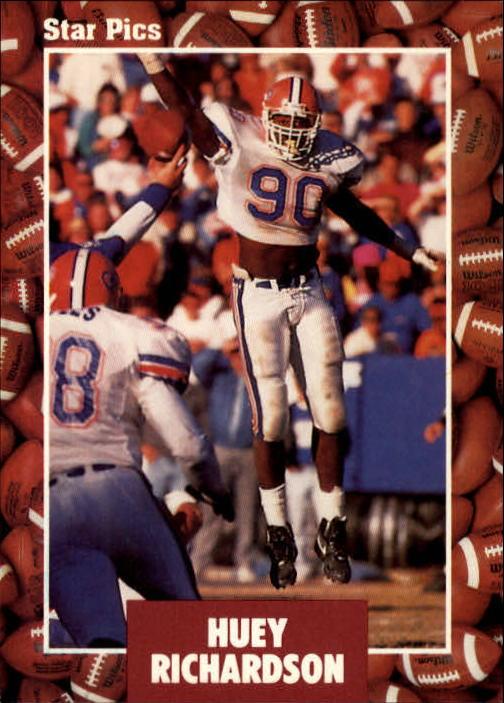1991 Star Pics #5 Huey Richardson