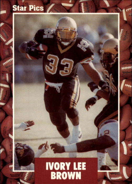 1991 Star Pics #8 Ivory Lee Brown