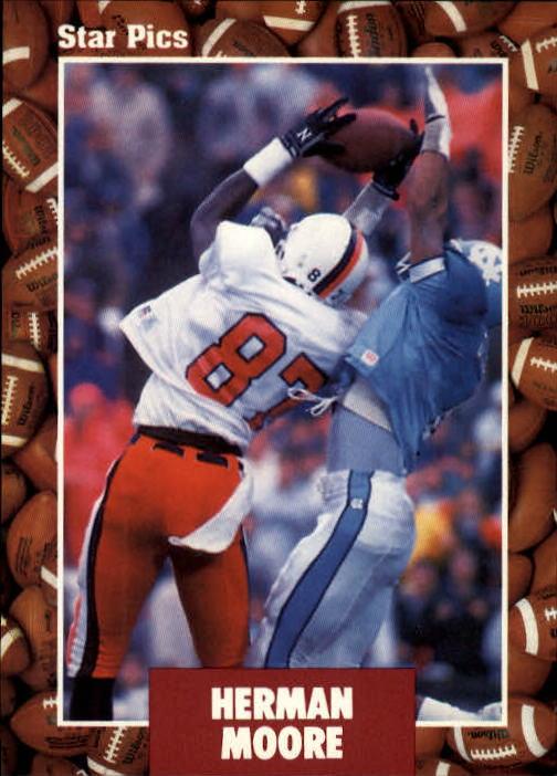 1991 Star Pics #9 Herman Moore