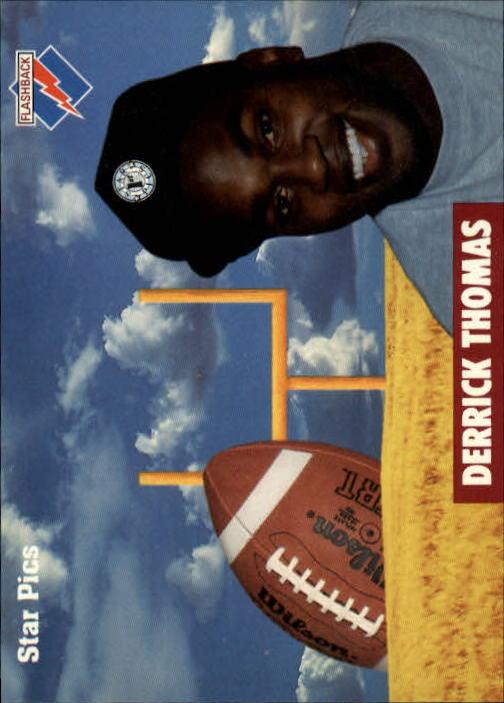 1991 Star Pics #10 Derrick Thomas FLB