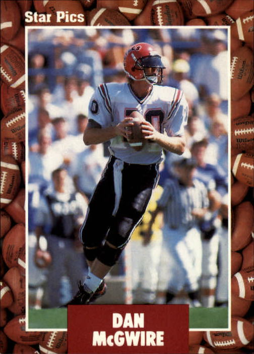 1991 Star Pics #13 Dan McGwire