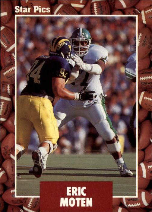 1991 Star Pics #15 Eric Moten