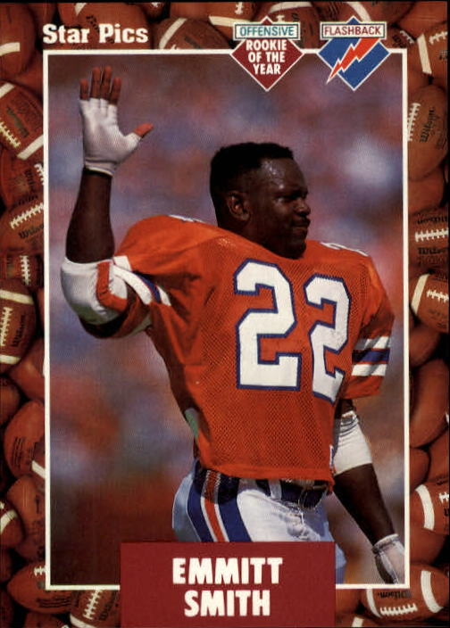 1991 Star Pics #20 Emmitt Smith FLB