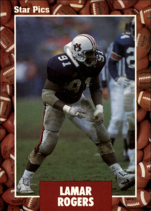 1991 Star Pics #22 Lamar Rogers