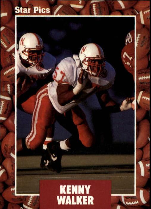 1991 Star Pics #23 Kenny Walker