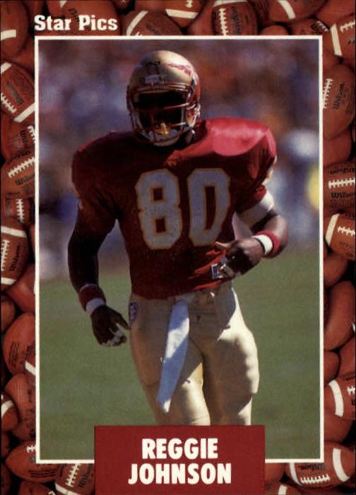 1991 Star Pics #25 Reggie Johnson