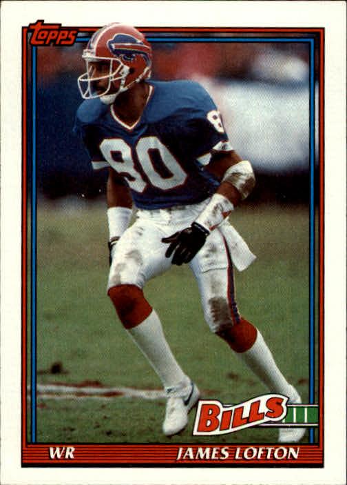 1991 Topps #43 James Lofton