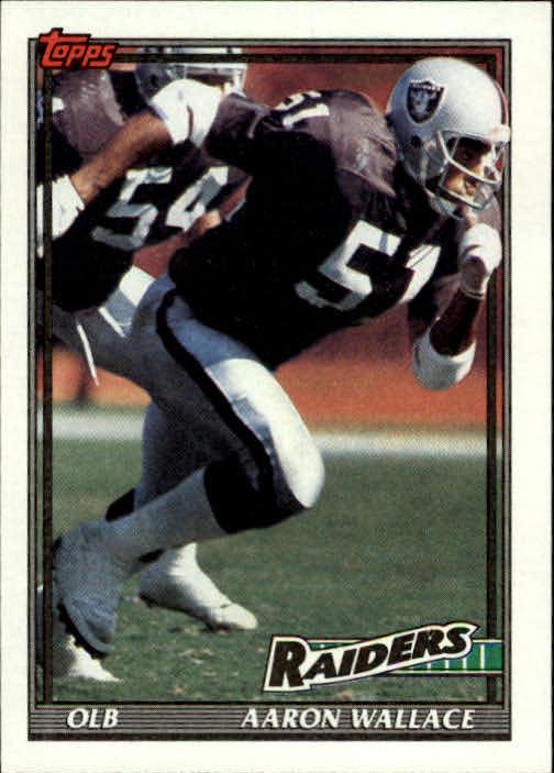 1991 Topps #92 Aaron Wallace