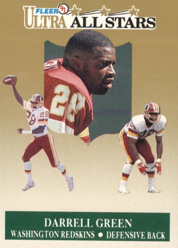 1991 Ultra All-Stars #8 Darrell Green