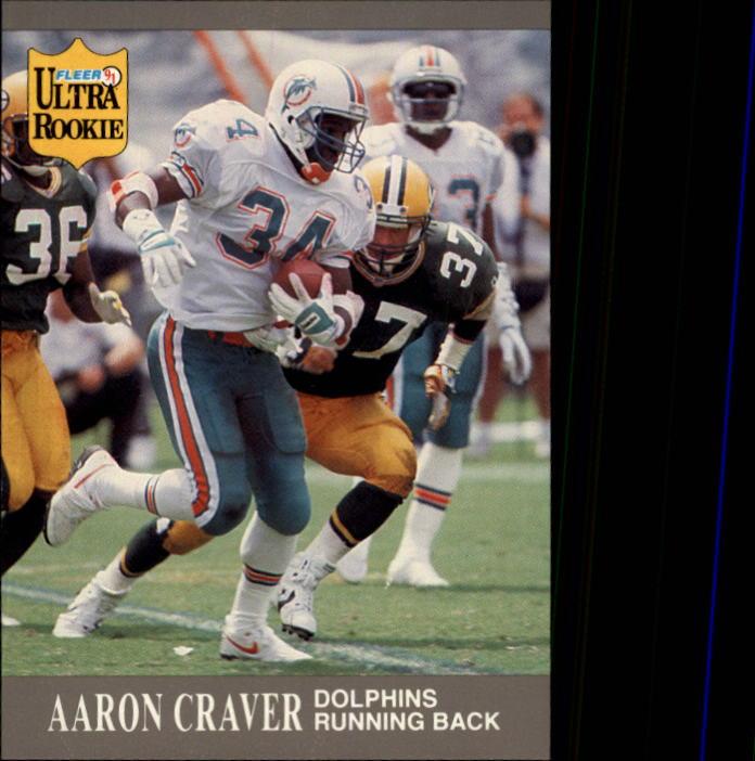 1991 Ultra Update #U47 Aaron Craver RC