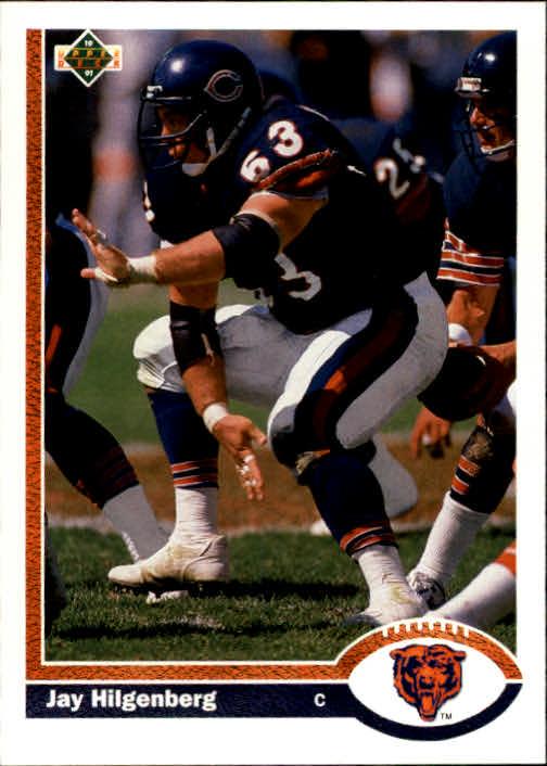 1991 Upper Deck #267 Jay Hilgenberg