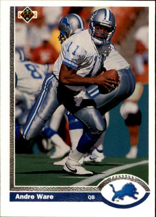 1991 Upper Deck #301 Andre Ware