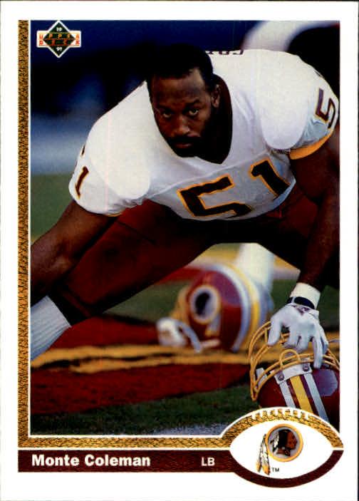 1991 Upper Deck #440 Monte Coleman
