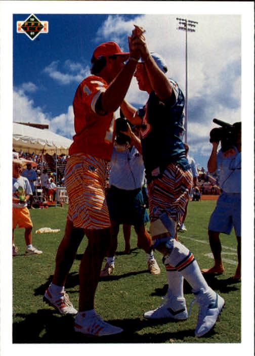 1991 Upper Deck #450 Steve DeBerg/Dan Marino/Team MVP CL 453-473