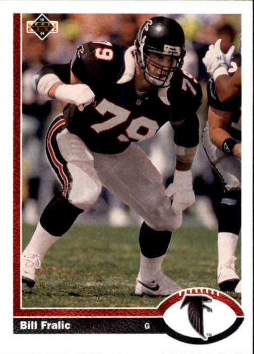 1991 Upper Deck #535 Bill Fralic