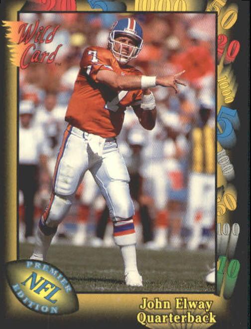 1991 Wild Card #4 John Elway