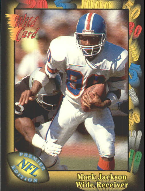 1991 Wild Card #11 Mark Jackson