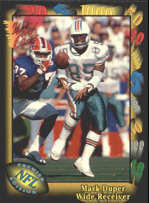 1991 Wild Card #16 Mark Duper