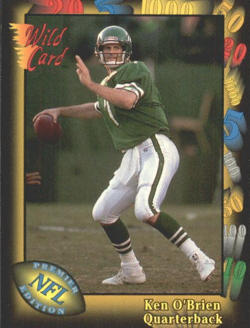 1991 Wild Card #20 Ken O'Brien