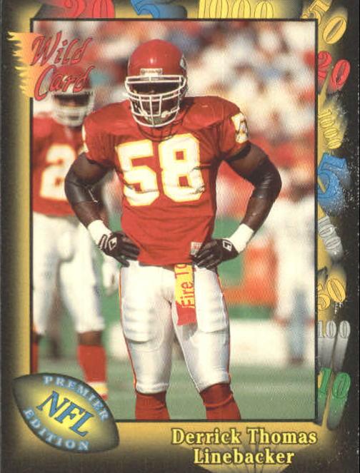 1991 Wild Card #22 Derrick Thomas