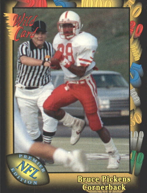 1991 Wild Card #39 Bruce Pickens RC