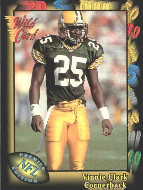 1991 Wild Card #97 Vinnie Clark RC