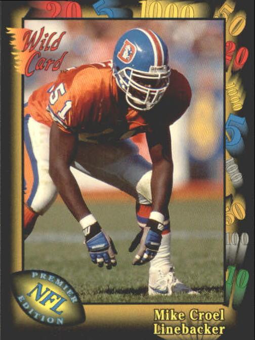1991 Wild Card #148 Mike Croel RC