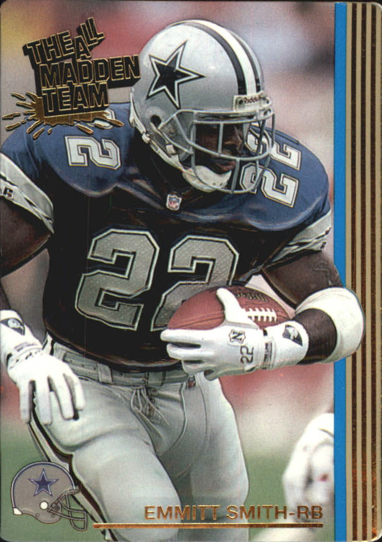 1992 Action Packed All Madden 1 Emmitt Smith Nm Mt