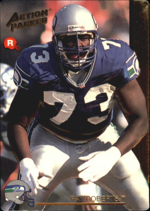 1992 Action Packed Rookie Update #10 Ray Roberts RC