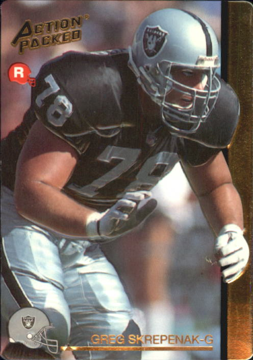 1992 Action Packed Rookie Update #12 Greg Skrepenak RC