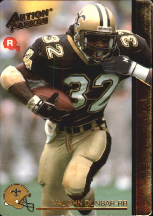1992 Action Packed Rookie Update #13 Vaughn Dunbar RC