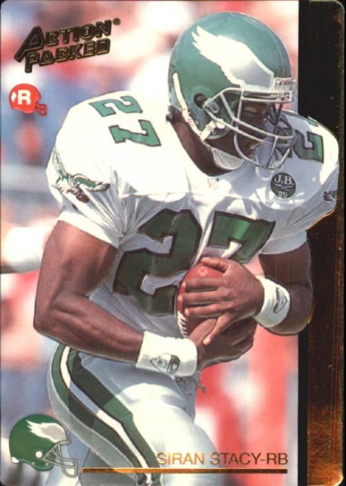 1992 Action Packed Rookie Update #14 Siran Stacy RC