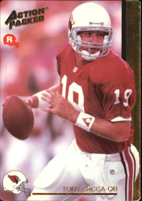 1992 Action Packed Rookie Update #16 Tony Sacca RC
