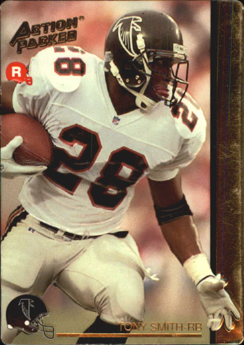 1992 Action Packed Rookie Update #20 Tony Smith RC