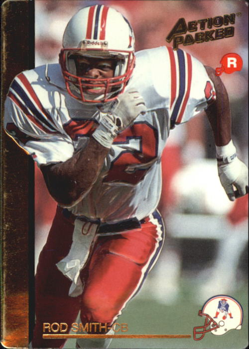 1992 Action Packed Rookie Update #21 Rod Smith DB RC