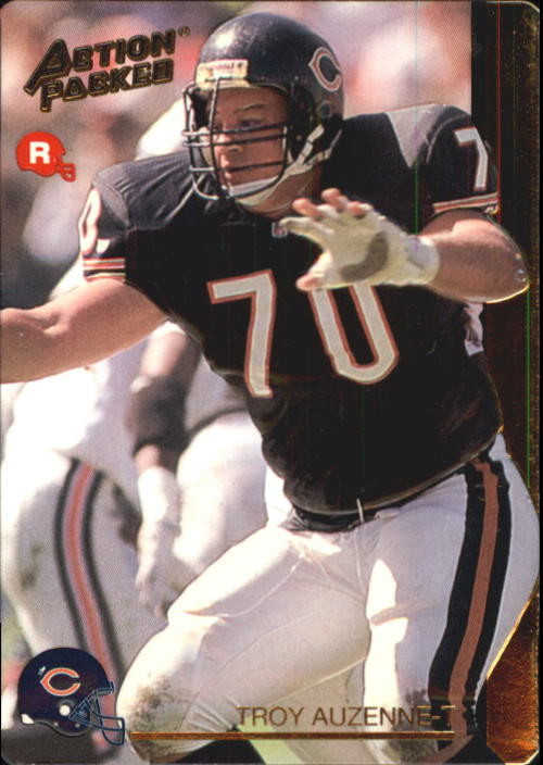 1992 Action Packed Rookie Update #22 Troy Auzenne RC