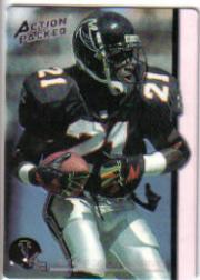 1992 Action Packed Rookie Update #84N Deion Sanders Neon