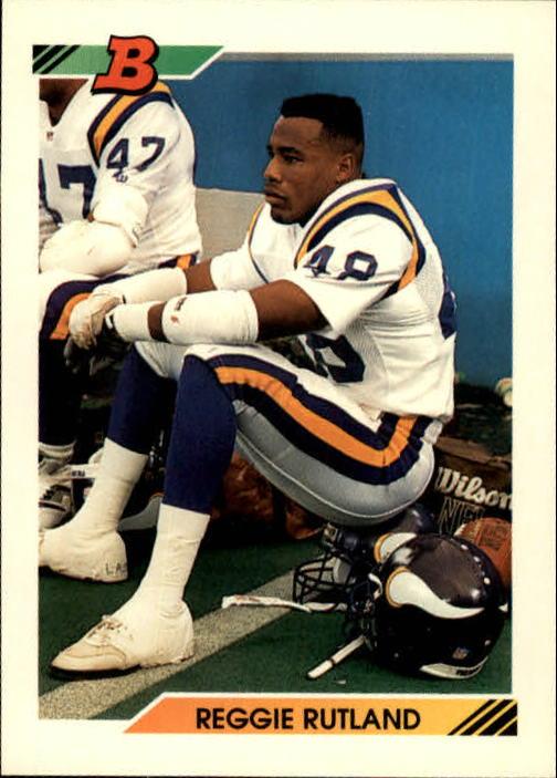 1992 Bowman #134 Reggie Rutland