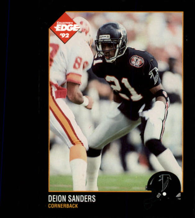 1992 Collector's Edge #6 Deion Sanders